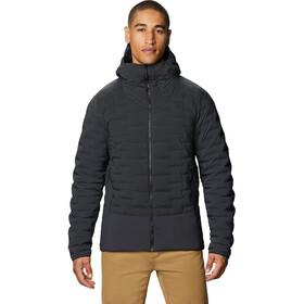 Mountain Hardwear Stretchdown Sweat À Capuche Hybride Homme, dark storm